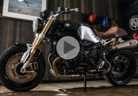 BMW R Nine T With All New Akrapovič Exhaust System & Roland Sands Design Gear!