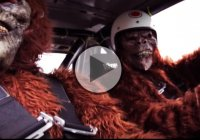Fury drift battle : Danny George vs. Sasquatches!