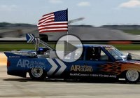 Jet powered Chevy pickup truck that can go 375mph!