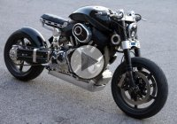 The Astonishing X132 Hellcat Speedster by Confederate Motorcycles