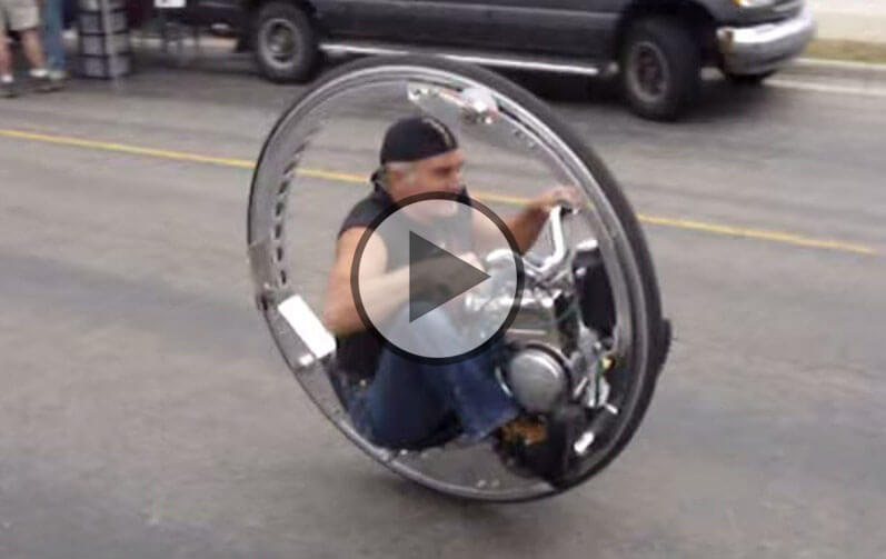 Crazy Monocycle