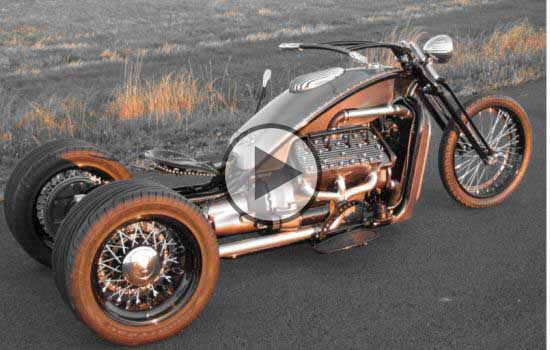 V8 Powered Trike