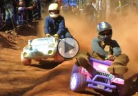 EXTREME SPORT – Downhill Racing in Barbie JEEPS!