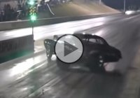 Camaro Fails At The Drag Strip…To Much Power Is No Good!!