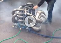 Homemade 2 Stroke V8 Engine… Imagine That!!