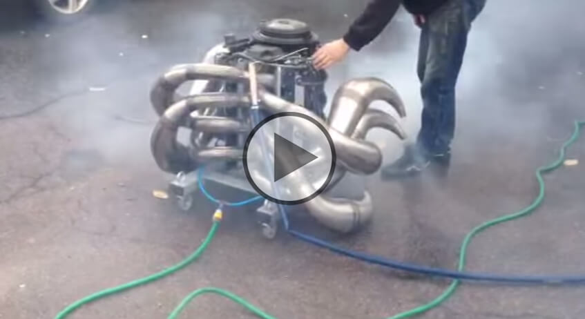 Homemade 2 Stroke V8 Engine