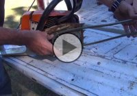 How to Charge Dead Car Battery Using a Chainsaw!