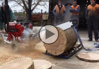 4.2L V8 Chainsaw by Whitlands Engineering – The forest's worst nightmare
