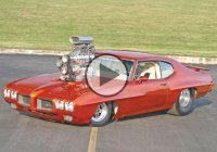 GTO Judge Pontiac – One bad 1970 Pontiac GTO with 1600 hp!