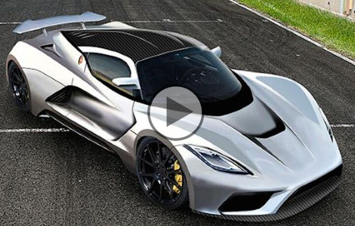 Hennessey Venom F5 Top Speed