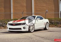 "5th Generation Chevy Camaro SS on 22"" Vossen Concave Wheels!"