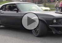 Stunning Harbinger Ford Mustang by Agent 47! Warning: Very loud!