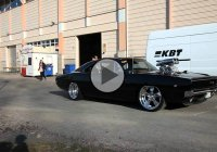 An Award winning Supercharged 1968 Dodge Charger Victory Burnout!