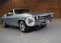 Beautiful Silver 1969 Chevy Chevelle with 1800 HP Street Test!