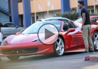 Ferrari prank – So many gold diggers, so little time!