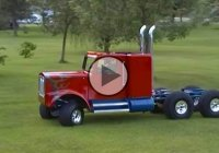 Handmade Mini Kenworth Truck as a gift to your kid? Parenting done right!
