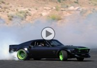 Muscle car drifting! Vaughn Gittin Jr, you're doing it right!