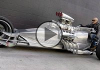 V8 trike 1000hp – Frogman Tim Cotterill Rocket 2!