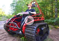 The Ripchair 2.0 – an extreme off-road tracked wheelchair! by Howe Tech
