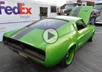 Cool Green 1967 Mustang Fastback by Restomod!!!