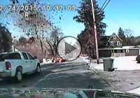 Petrol Pump Explosion Captured On A Police Camera!