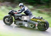 TwinTrax! – Two Supercool Harleys built in 1 motorcycle!!!