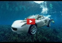 Rinspeed sQuba! The first car that can float, dive and drive on land!
