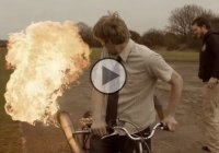 The most dangerous bicycle ever – jet powered bicycle!