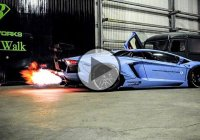 Coolest modified Lamborghini Aventador by Liberty Walk!