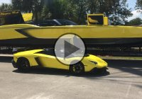 2700 HP Lamborghini Speed Boat – The Raging Bull!!