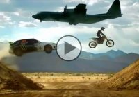 Ken Block Going Wild At an Airfield – MUST SEE!!