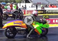 Jeremy Teasley Sets A World Record For The Fastest Pro Street Bike!!