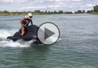 Yamaha Jet Ski With A Modified Suzuki Hayabusa Engine!