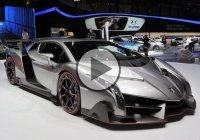 Lamborghini Veneno Start Up + Driving On The Road!