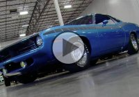 """Blue Fire"" – a 1970 Plymouth 'Cuda AAR with EB5 Blue body and interior!"