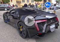 Start up, Driving Sounds and Overview Of The $3.4 Million LYKAN HyperSport