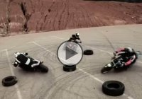 3 Bikers And Stunning Drift Choreography!!