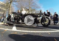 The V12 Lamborghini Custom Motorcycle!!
