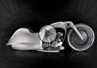 The Full Moon Concept Bike From Akrapovic & Dreamachine Motorcycles!