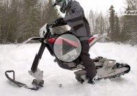 13 Time World Champion Juha Salminen Riding The Snow Enduro Bike!!!