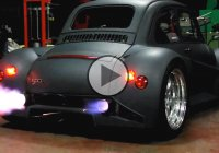The 600 Hp, Fiat-Lamborghini Hybrid Is The Fastest Mini Car In The World!!