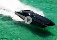 Corvette boat MTI ZR48 – an insane Corvette inspired boat!