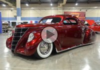 The VOODOO PRIEST – Custom Lincoln Zephyr owned by James Hetfield!