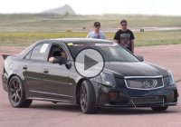 An absolute drag strip winner – Cadillac CTS-V making 1200 hp!!