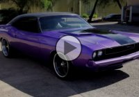 Beautiful 1970 Dodge Challenger R/T SE, Special purple edition!