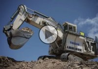LIEBHERR R-9800 – The biggest and heaviest hydraulic Excavator in the world!