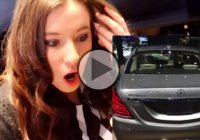 "Crazy prank at the Detroit Auto Show! ""I almost had a heart attack"" – everyone!"