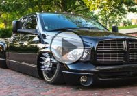 """The Black Pearl"", a modified bagged Dodge RAM by Low Down Labs!"