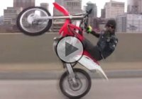 Lil' Chino, a dirt bike rider doing jaw-dropping stunts on the streets!