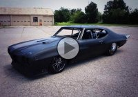 """The Crow"", Big Chief's 1970 Pontiac Le Mans turned into a Twin Turbo GTO!"